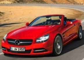 Mercedes SL komt er sneller dan verwacht 2011