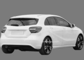 Gelekt! Patenttekeningen van de Mercedes A-klasse