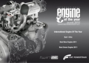 Fiat's 875cc TwinAir is dit jaar Engine of the Year
