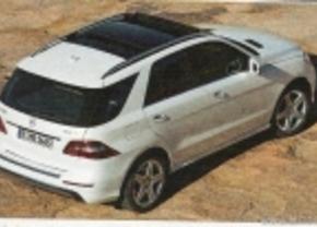 Nieuwe Mercedes ML 2012