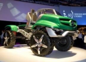 Unimog viert 60e verjaardag met concept car