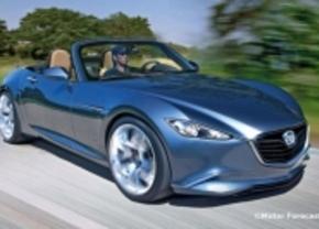 Volgende Mazda MX5 wordt 320 kg lichter