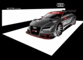 Audi's concurrent voor de M3 DTM: de A5 DTM Concept