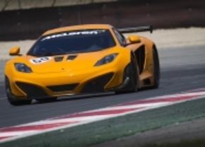 McLaren MP4-12C rijdt mee op 24u van Spa Francorchamps