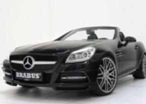 2011 Mercedes SLK door Brabus