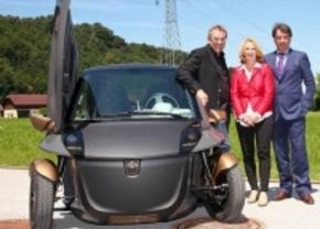 KTM E3W lust Renault Twizy rauw