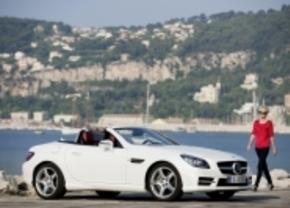 Mercedes SLK wordt dieselstoof