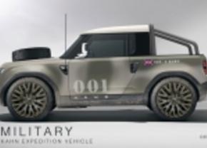 Project Kahn bewerkt Land Rover DC100 nu al
