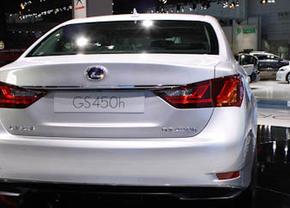 Live op de IAA 2011: Lexus GS