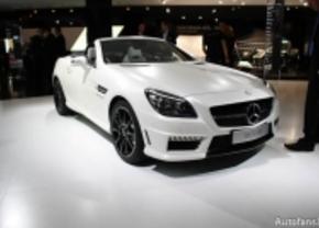 Live op de IAA 2011: Mercedes SLK 55 AMG