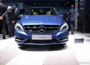 Live op de IAA 2011: Mercedes B-klasse