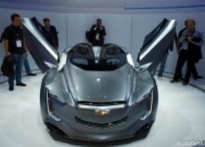 Live op de IAA 2011: Chevrolet Mi Ray Concept