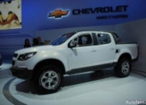 Live op de IAA: 2011: Chevrolet Colorado Rally Concept