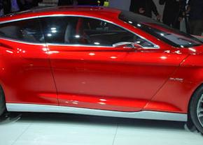 Live op de IAA 2011: Ford Evos Concept
