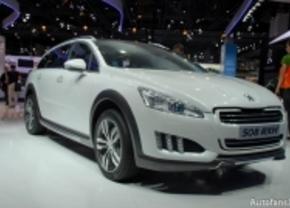 Live op de IAA 2011: Peugeot 508 RXH