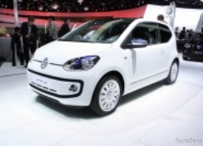 Live op de IAA 2011: Volkswagen Up!