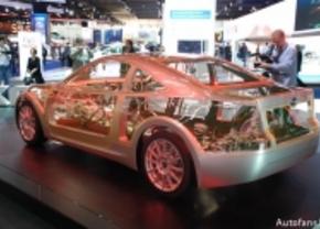 Live op de IAA 2011: Subaru BRZ Prologue Concept