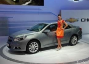 Live op de IAA 2011: Chevrolet Malibu