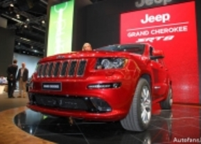 Live op de IAA 2011: Jeep Grand Cherokee SRT-8