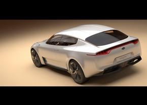 Kia's GT Concept mogelijk in productie