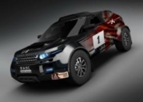 Range Rover Evoque naar de Dakar-rally