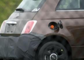 Fiat 500 EV gespot is US of A