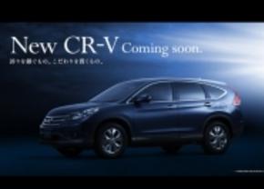 nieuwe honda CR-V 2012