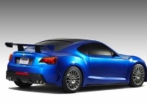 Eerste beeld: Subaru BRZ Concept STi