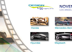 Hollywood Hottest New Movie Car als thema LA Auto Show Design Contest