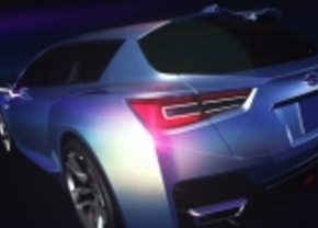 Subaru advanced tourer concept
