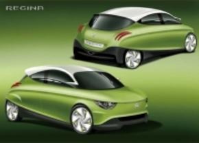Suzuki toont aerodynamische Regina