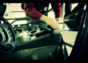 Nissan Juke R cabine video