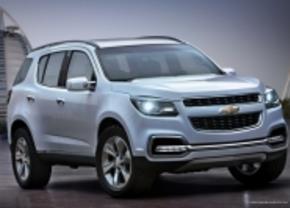 Chevrolet TrailBlazer Concept voor Dubai