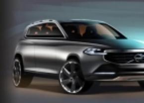 Eerste schetsen: nieuwe Volvo XC90