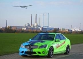 Blauw of groen? Wimmer RS kleurt je Mercedes C63 AMG