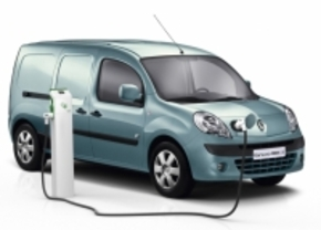 Renault Kangoo Z.E. is Van of the Year