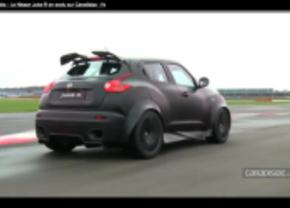 Nissan Juke-r video op silverstone circuit