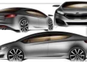 Kia Forte 2013 schetsen
