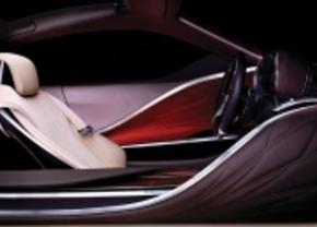 Tweede teaser van het Lexus concept in Detroit