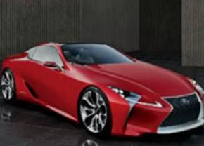 Gelekt: Lexus LF-Lc Concept