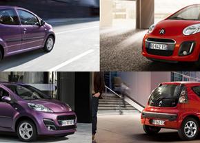 Officieel: Peugeot 107 en Citroën C1 facelift