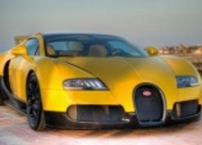 Bugatti veyron grand sport qatar gele editie