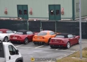 fluo oranje Alfa Romeo 8C