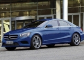 Mercedes BLS 2012 render