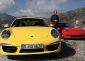 Porsche 911 Carrera S vs Chevrolet Corvette Grand Sport