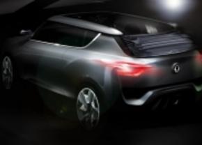 ssangyong XIV-2 convertible concept