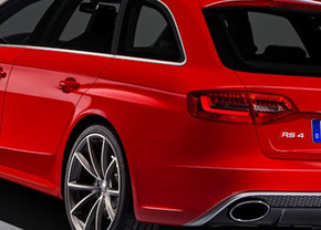 Officiële foto's van Audi RS4 lekken