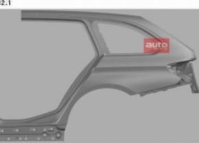 Gelekt: het kofferdeksel van de BMW 3 Touring
