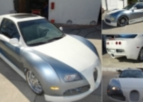 civic goes bugatti veyron