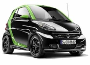 Smart Brabus electric Drive is snelle groene jongen